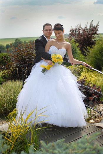 dfb293b3651 Naše nevěsty - Kateřina - Svatební salon Svatba snů