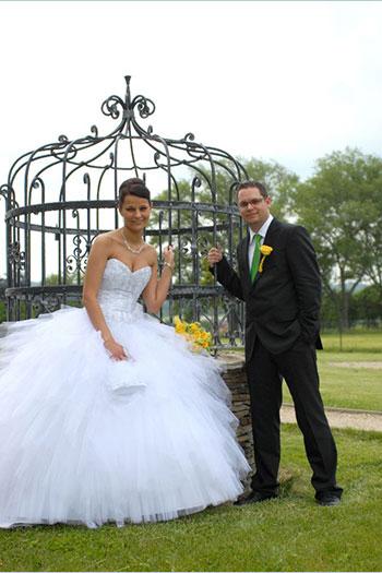 27a8e74966 Naše nevěsty - Kateřina - Svatební salon Svatba snů