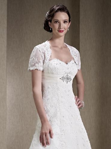 Luxusní krajkové svatební šaty větší velikosti PL1550 3aa125be4e