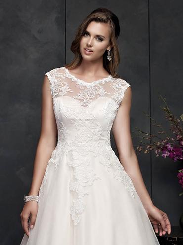 Koktejlové svatební šaty PL1550 5db80e0fde
