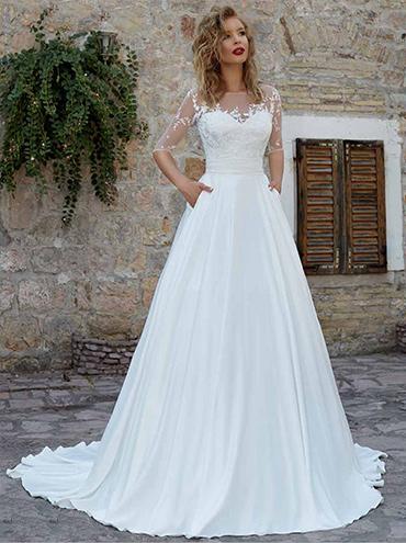 00cba24cd8d Svatební šaty - fotogalerie - velikost 44 - strana 1 - Svatební ...