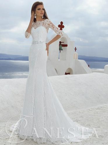4e6a90a4aeb Krajkové svatební šaty Nikol