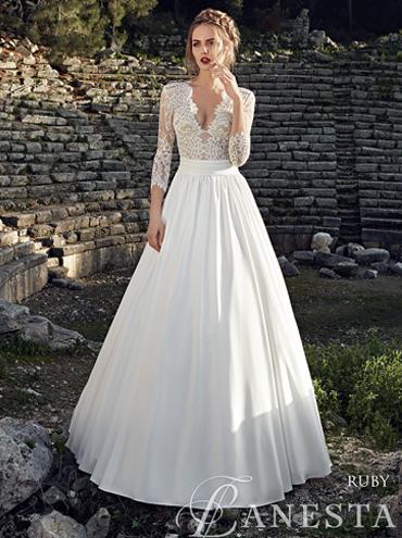 Svatební šaty - fotogalerie - velikost 46 - strana 1 - Svatební ... 4f5d0202225