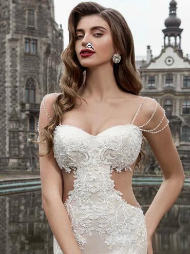 Krajkové svatební šaty Sofia Golshanska 56a2a5c012