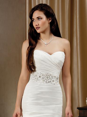 Korzetové svatební šaty M1205L bce8a8b7379
